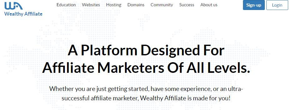 wealthy affiliate新手入门