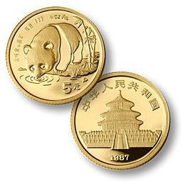 中国大熊猫金币竞拍