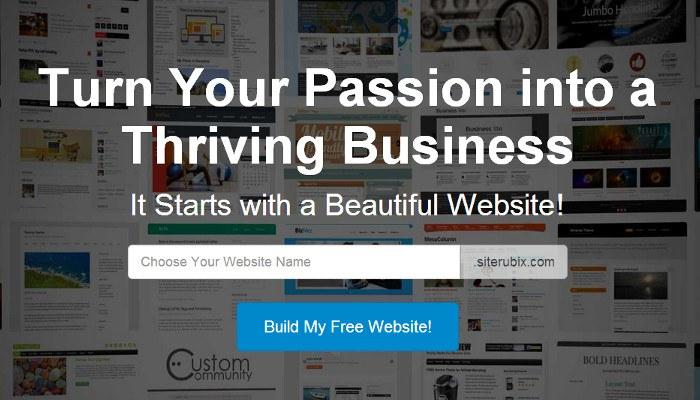免费网站建设工具