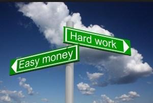 通过自身努力来赚钱