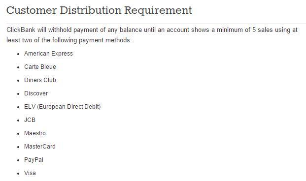 clickbank付款方式