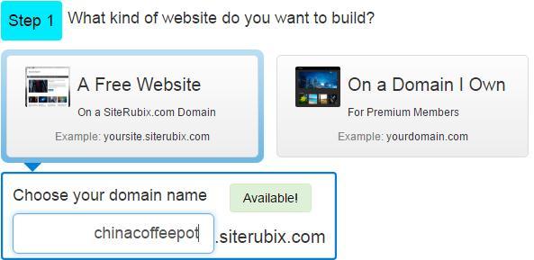 选取wordpress网站域名