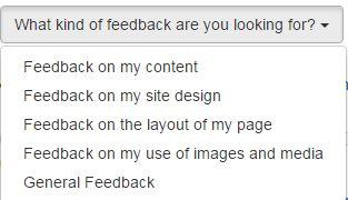 英文博客网站feedback反馈赚钱
