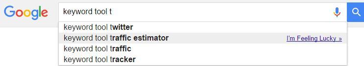 google alphabet 关键词搜索技术