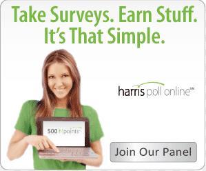 Harris Poll Online调查赚钱网站