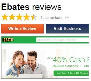 会员对ebates五星评价