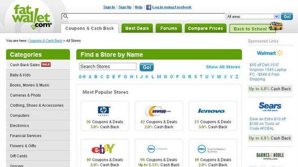 美国购物返利网站-fatwallet