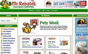 美国购物返利网站Mrrebates