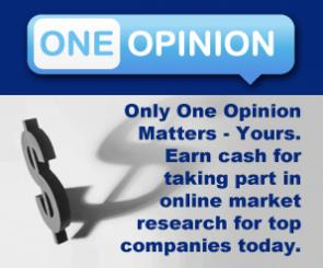 One Opinion调查赚钱网站