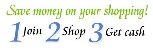 获得购物现金返利的3个步骤