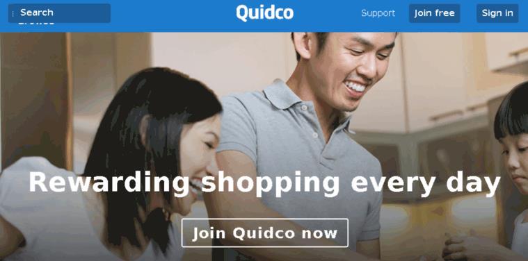 英国Quidco现金返还购物网站