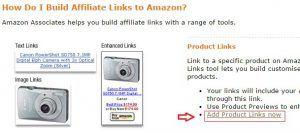 amazon产品文字链接