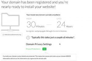 域名注册购买成功