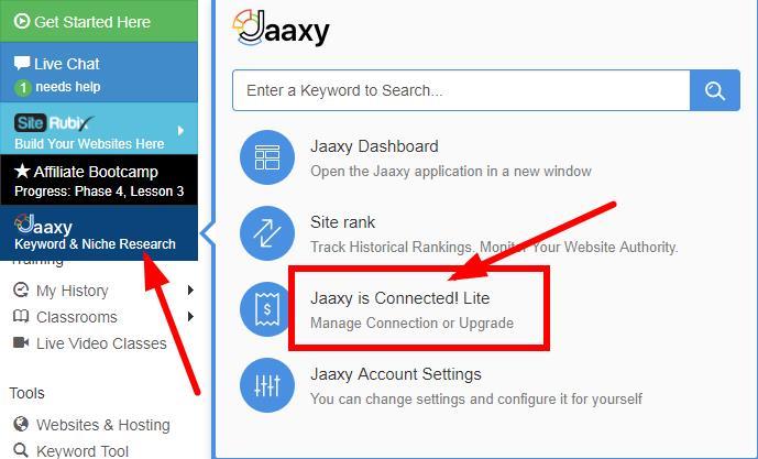 如何使用Jaaxy关键词工具