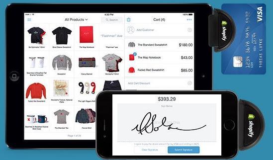 Shopify POS 支付系统