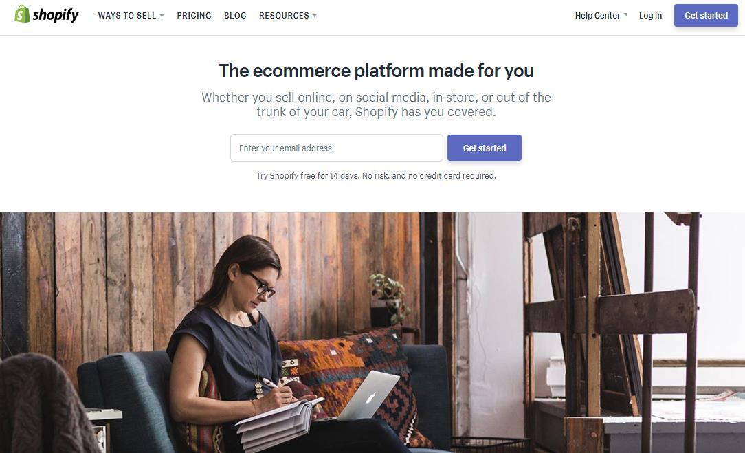 开店第一步:Shopify注册