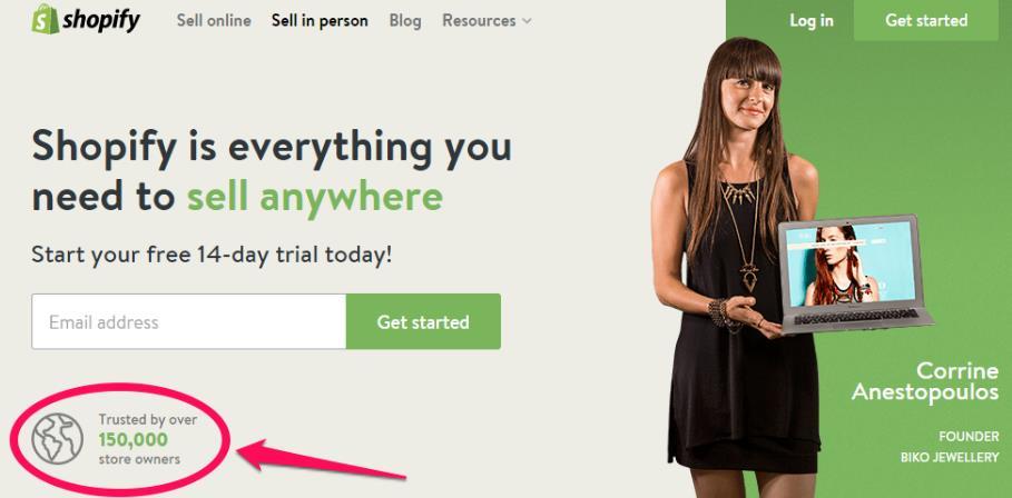 五步Shopify开店教程:3分钟之内创建Shopify店铺