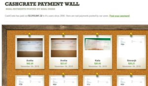 cashcrate payments wall