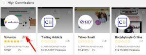 如何查找affiliate marketing产品