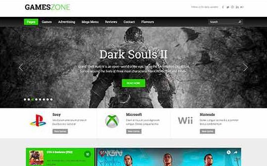 Games Zone主题