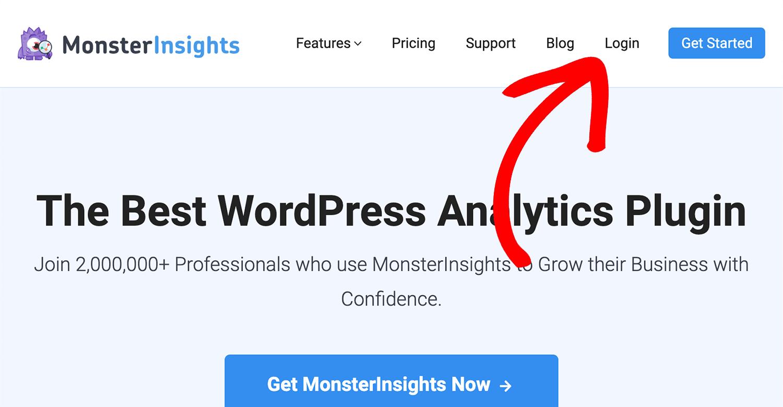 如何安装MonsterInsights插件