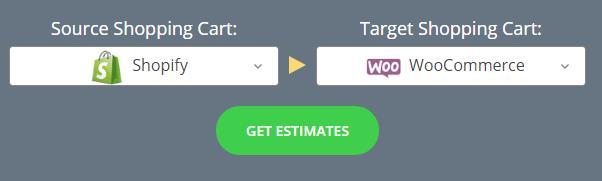 从Shopify迁移至 WooCommerce的费用