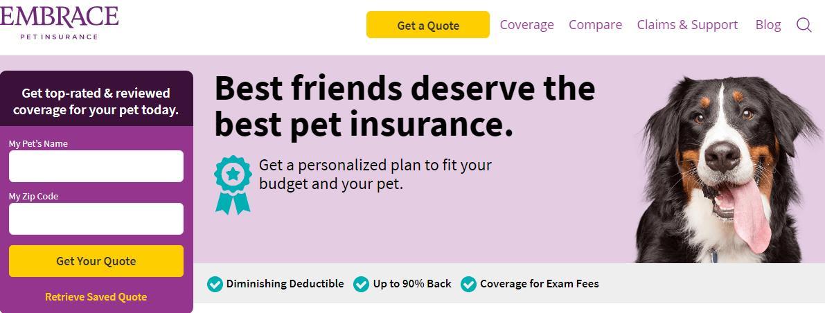 ShareAsale宠物保险会员计划1