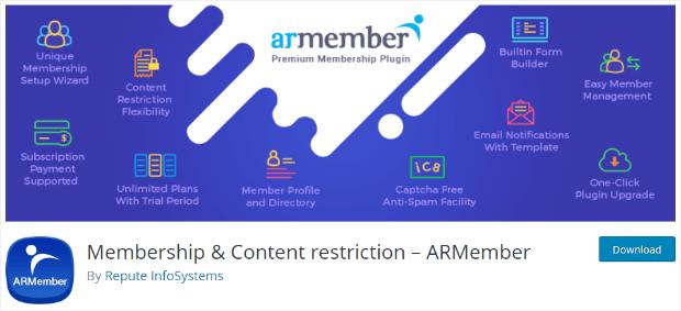 ARMember会员插件