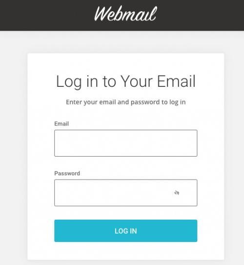 从域名访问SiteGround Webmail