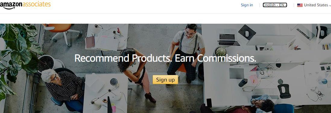 Amazon Associates联盟网络