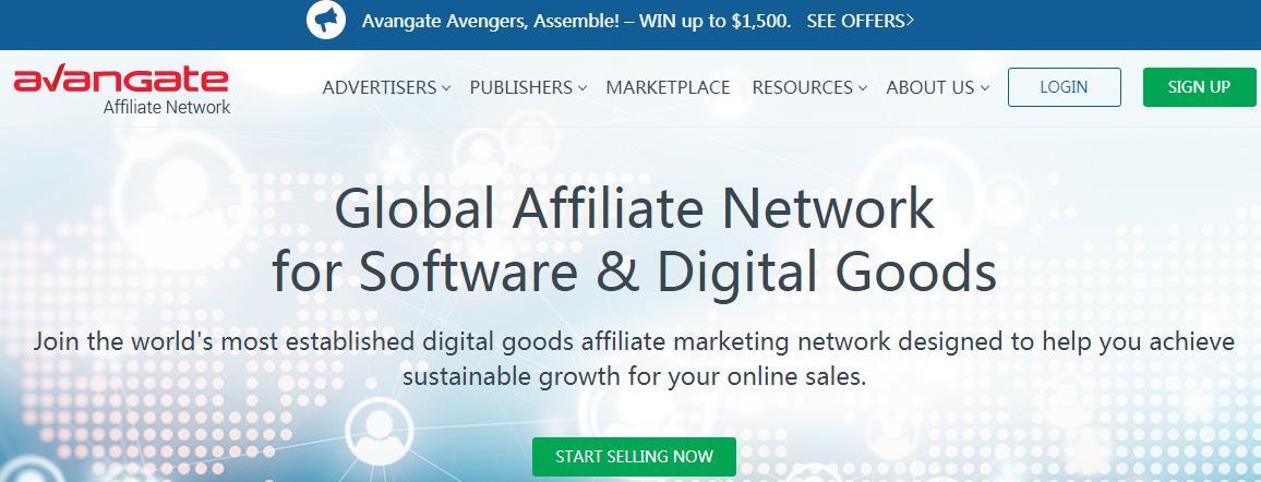 Avangate Affiliate Network联盟网络