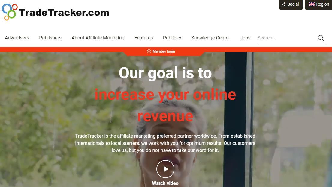 TradeTracker联盟网络