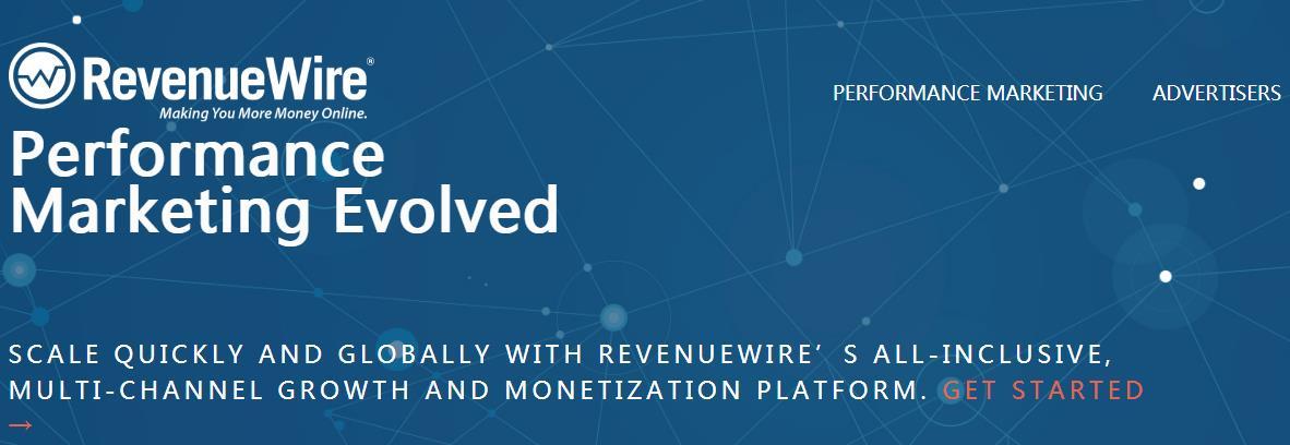 RevenueWire联盟网络
