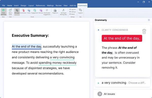 如何在word安装Grammarly以及检查英文语法和写作