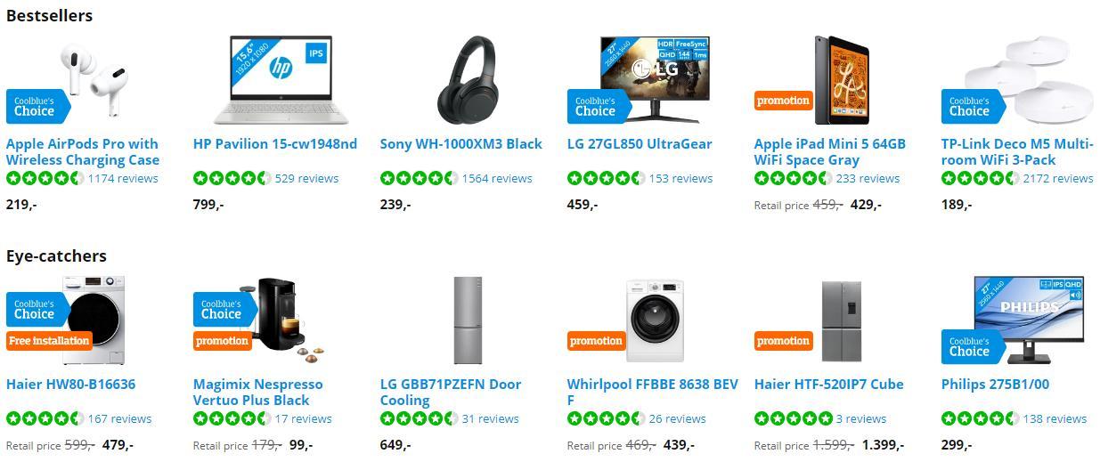 荷兰十大在线商店之一:Coolblue