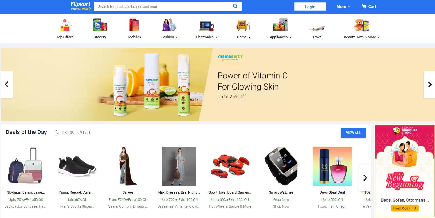 Flipkart-印度最好的会员计划之一