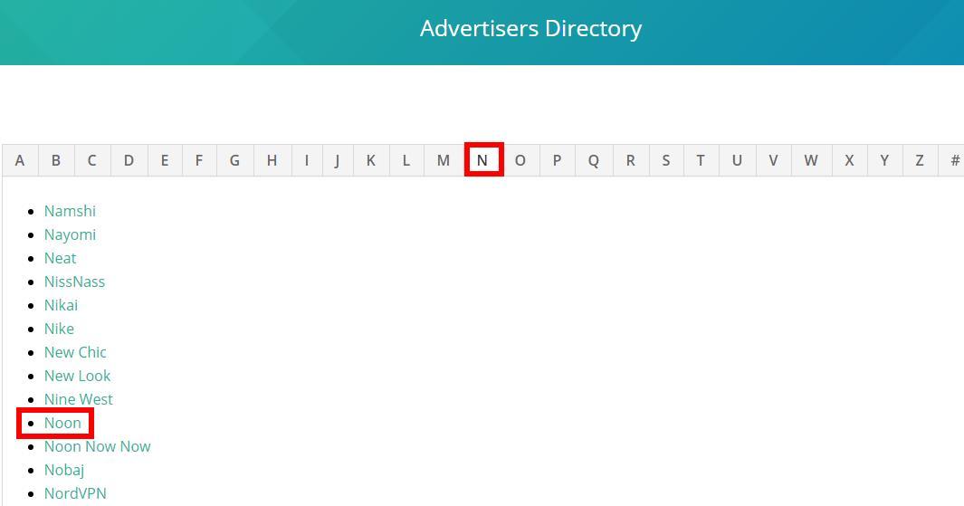 注册发布商如何在DCMnetwork内容查找广告商-noon.com